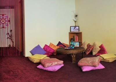 recepce chrámu tantra masáží Lakshmi